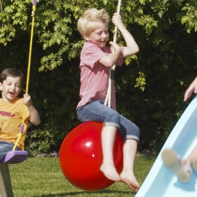 Buoy ball swing 'drop'