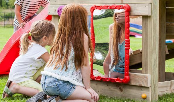 'haha' mirror - Blue Rabbit 2.0